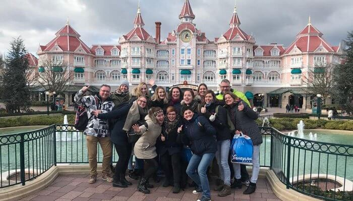 Disney groepsreis