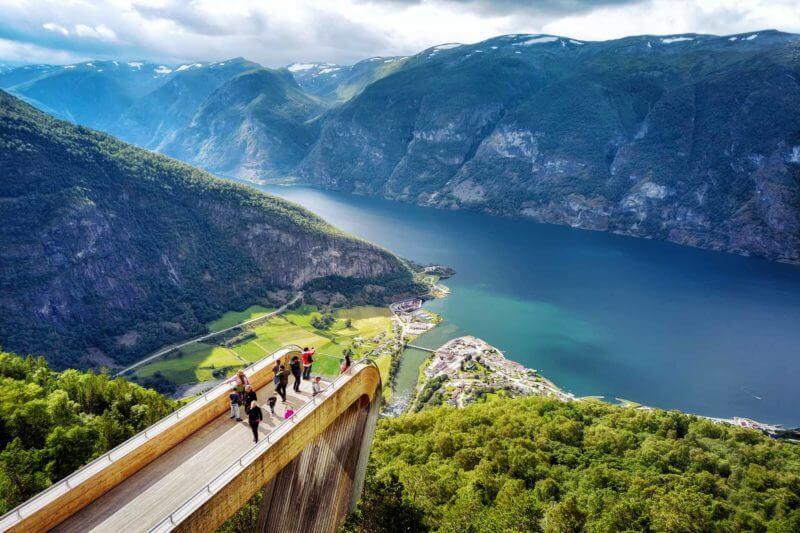 Cultuur snuiven Bergen