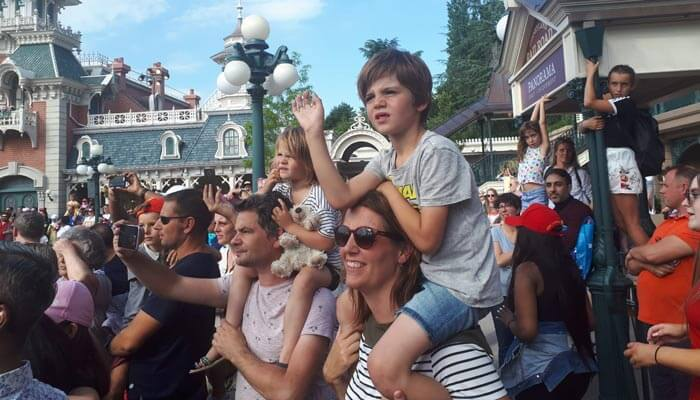 Groepsreis Disney