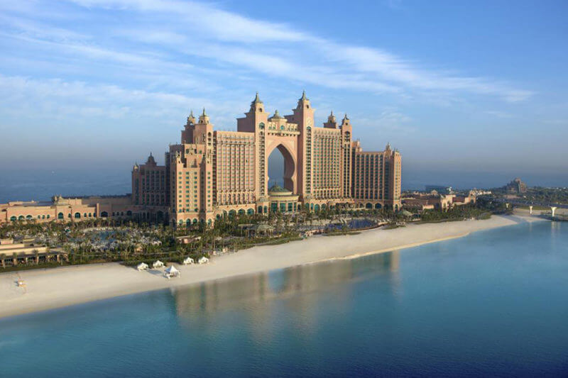 Jubileum vieren in Dubai
