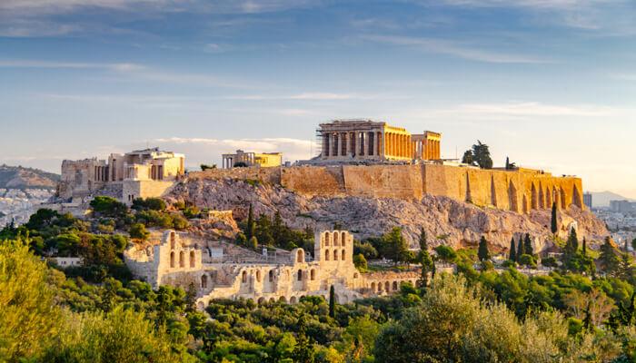 Personeelsuitje Athene